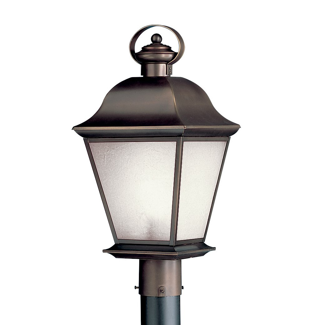 Kichler 10911OZ One Light Outdoor Post Mount by Kichler Lighting