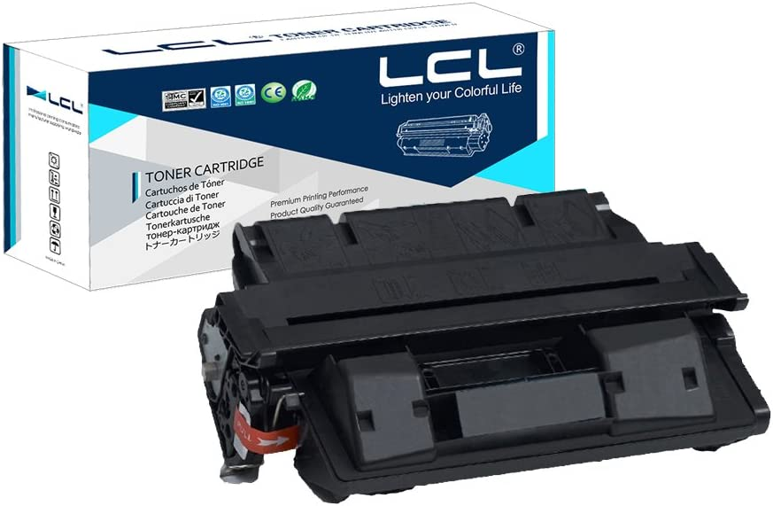 LCL Compatible Toner Cartridge Replacement for HP 27A 27X C4127A C4127X EP-52 EP-52X 10000 Page 4000/4000N/4000T/4050/4050N 4000SE 4000TN 4050SE 4050T 4050TN Printers Canon LBP-1760 (1-Pack Black)