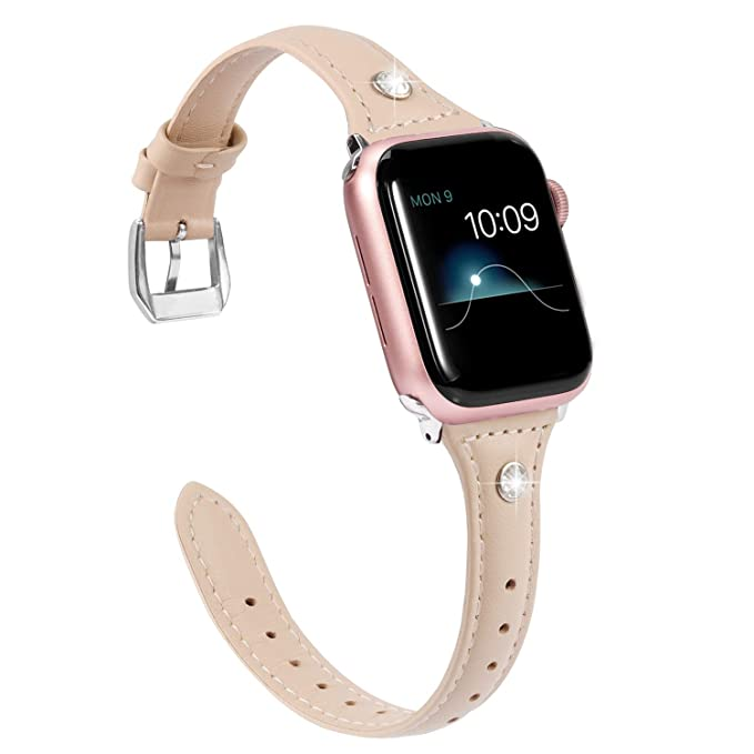 Wearlizer - Correa de Repuesto para Apple Watch de 38 mm y ...