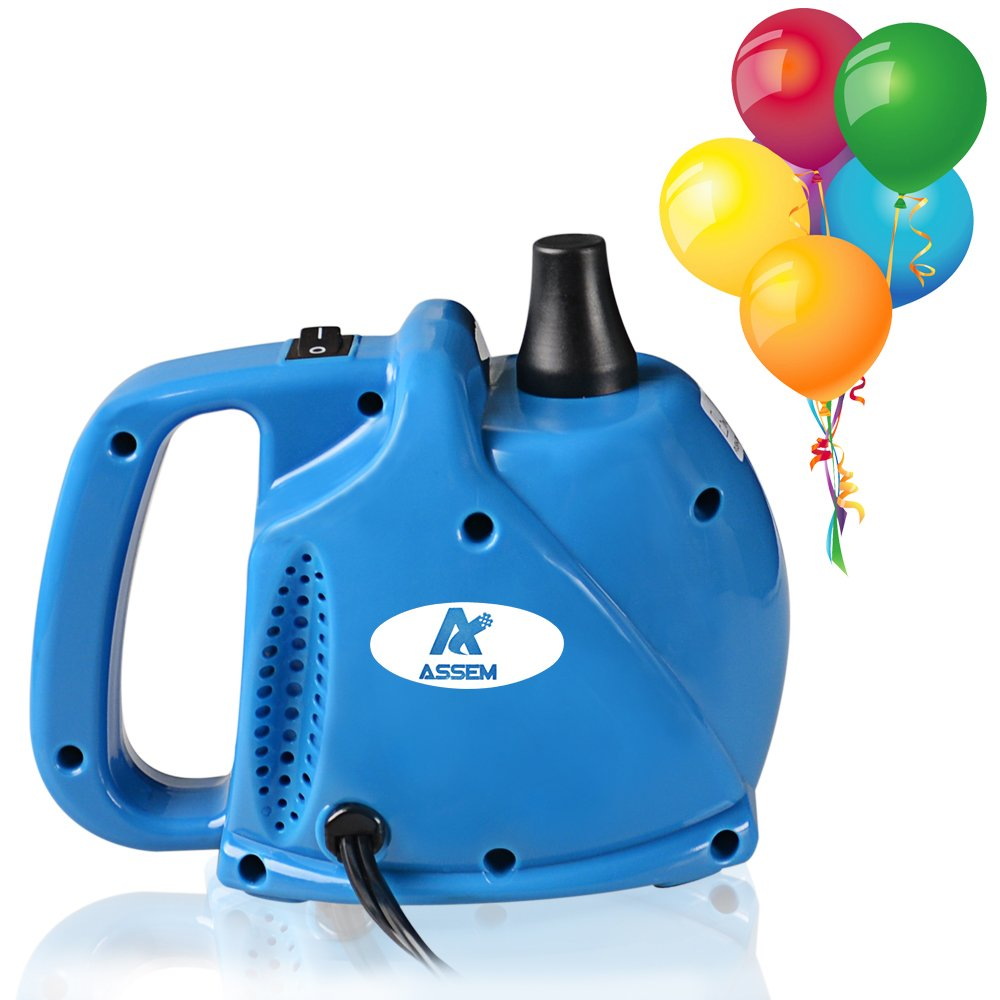 ASSEM A6382 Electric Portable Household Air Blower Electric Balloon Air Pump Inflator with 1.6PSI Single Nozzle 700l/min Air Volume