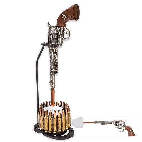Amazon.com: Wild West Revólver y balas Escobilla de inodoro ...