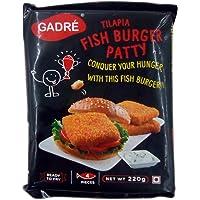 Gadre Burger Patty - Fish, 220g