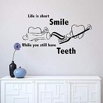 Calcomanías de pared desmontables oferta de clínica dental ...