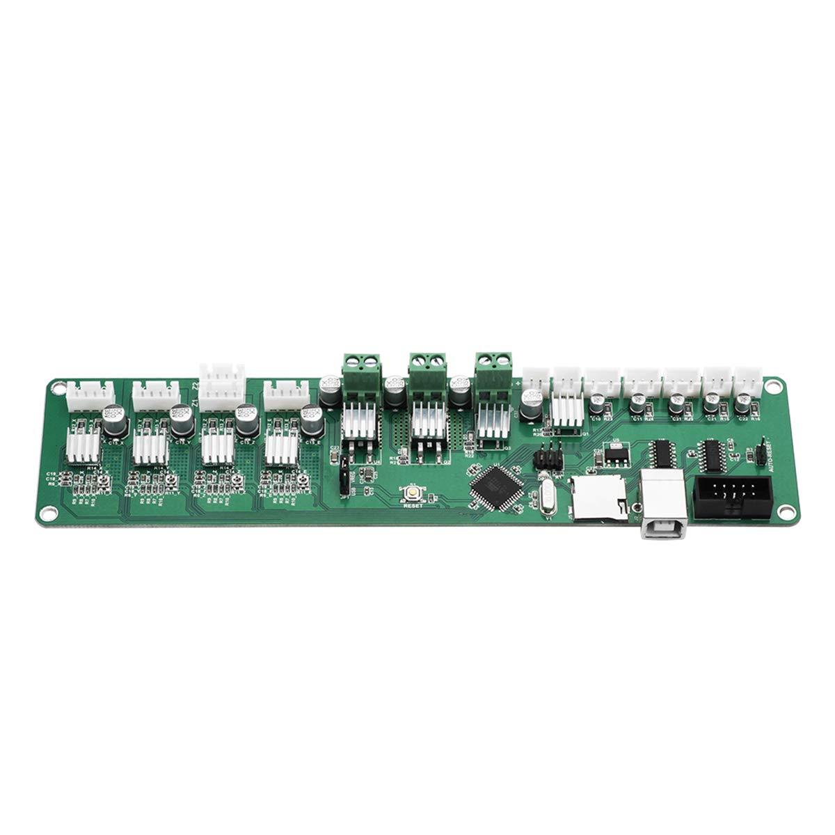 Hemobllo 3D Printer MELZI 2.0 MEGA1284P HR4982 Controller Board DIY Accessory Part