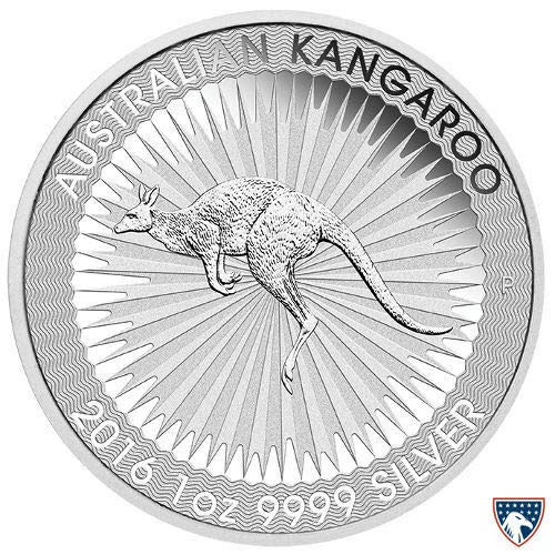 - 2016 AU Australia Silver Kangaroo Commemorative Ungraded