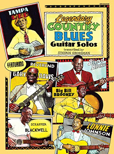 Legendary Country Blues Guitar Solos