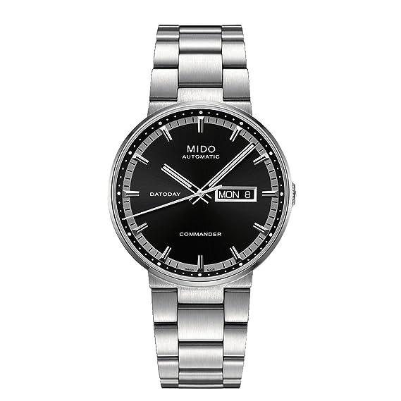 Mido Reloj Analógico para Hombre de Automático con Correa en Acero Inoxidable M014.430.11.