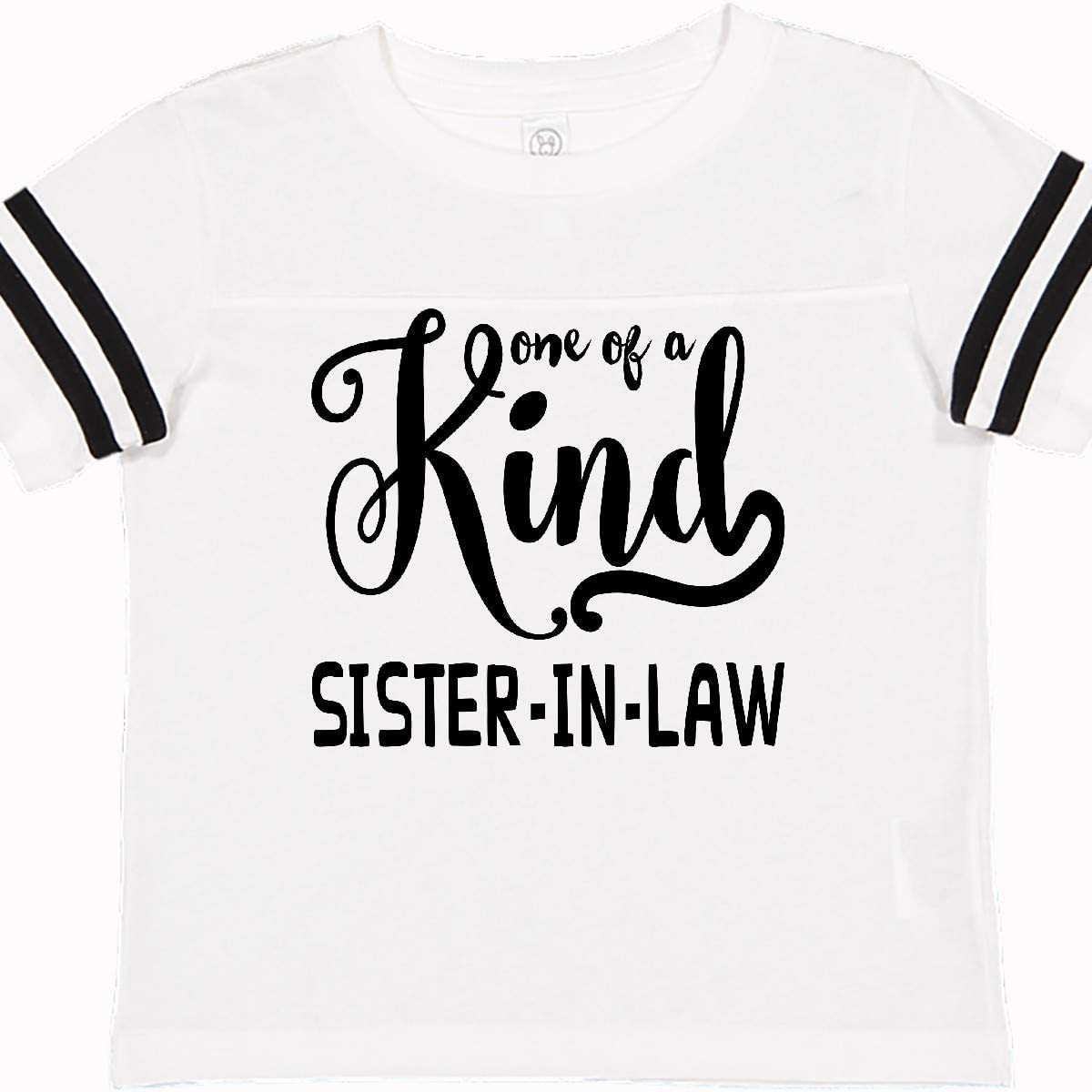 inktastic Gift for Sister in Laws 1 of a Kind Sister in Law Toddler T-Shirt