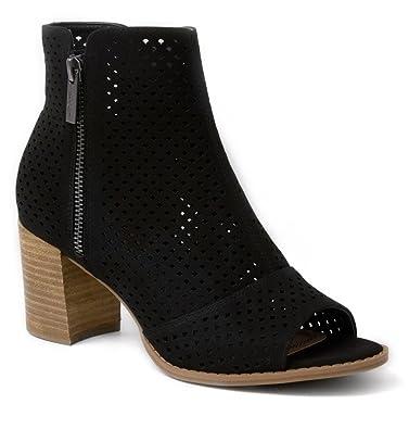 Women's Axle 3 Ankle Boot Heel Peep Toe Bootie