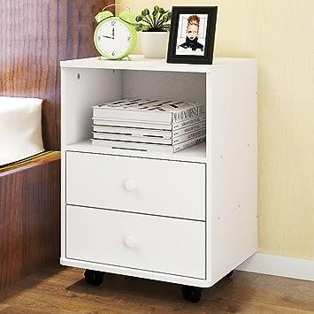 Amazon.de: EWYGFRFVQAS Einfacher Moderner nachttisch Schublade ...
