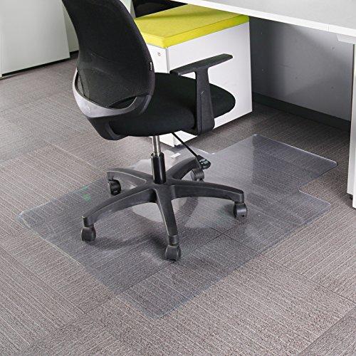 MultiWare Tapis Protege Sol Chaise De Bureau Pour Parquets Transparent Forme