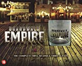 Boardwalk Empire (Complete Seasons 1-3) - 15-DVD Box Set & Collector Whiskey Glass ( Board walk Empire - Seasons One, Two & Three (36 Episodes) ) [ NON-USA FORMAT, PAL, Reg.2 Import - Netherlands ]