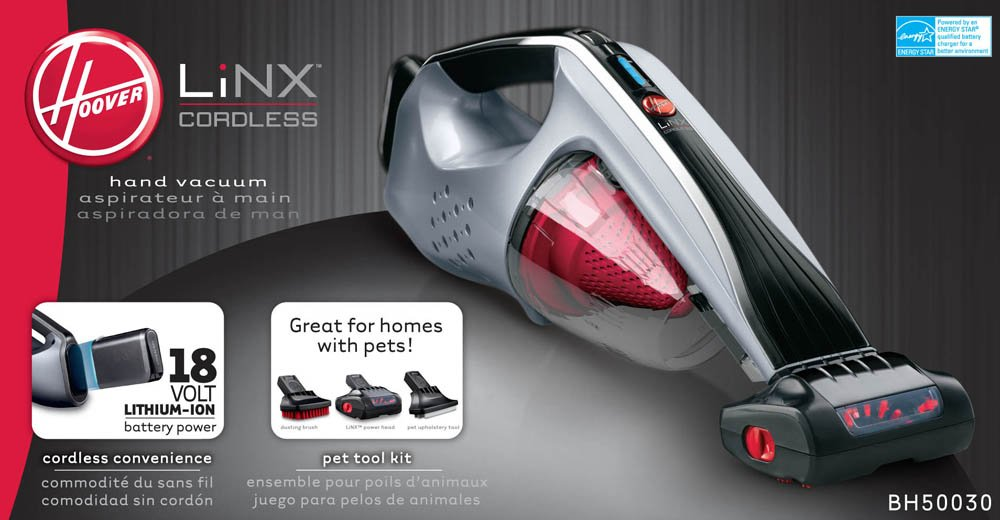 Hoover Platinum Collection Linx Cordless Pet Handheld Vacuum, BH50030