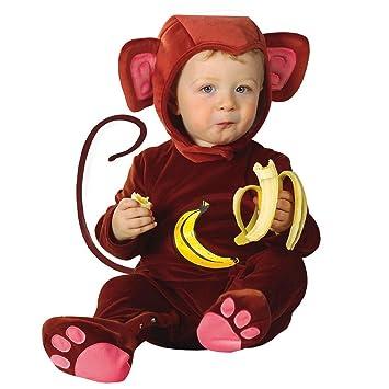 Disfraz de mono para disfraz de mono marrón 90 cm disfraz de mono ...