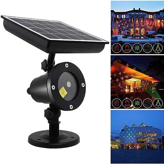 Gyj&mmm LED De Energía Solar, Las Luces De Navidad Luz del ...