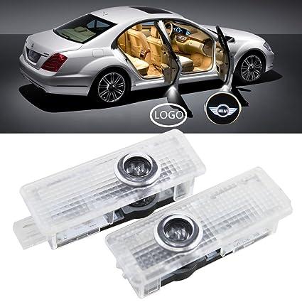 nslumo LED para puerta de coche Logo de bienvenida proyector ...