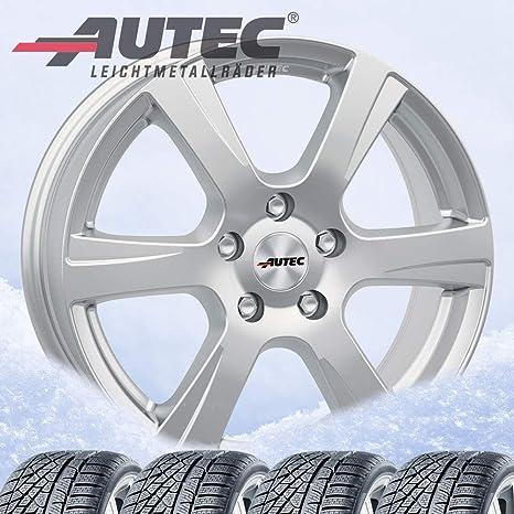 4 Invierno ruedas autec polaric ECE 6,5 x 16 ET20 4 x 108 Brillant