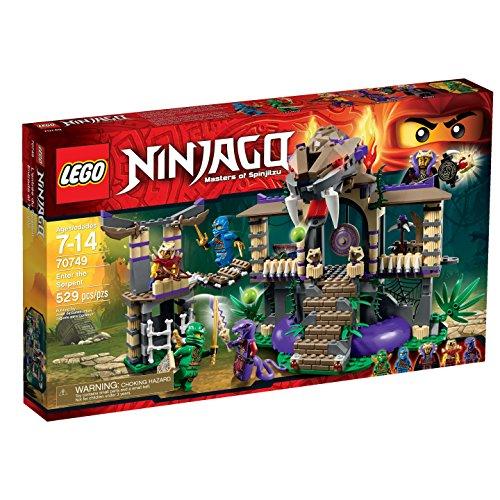 LEGO 70749 Ninjago Enter The Serpent (Lego Sets 4 Season Ninjago)