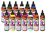 Unicorn SPiT Gel Stain & Glaze in One - 13 Paint Collection- 4oz - Includes New Colors