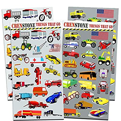 Cars and Trucks Party Supplies Ultimate Set - Birthday Party Decorations, Party Favors, Plates, Cups, Napkins and More (Things That Go Party Supplies) (1): Toys & Games