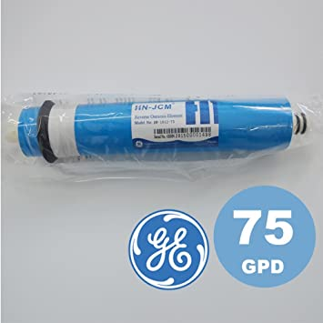 Asegure expendedora seca la membrana RO GE Suecia 75 GPD para la ...