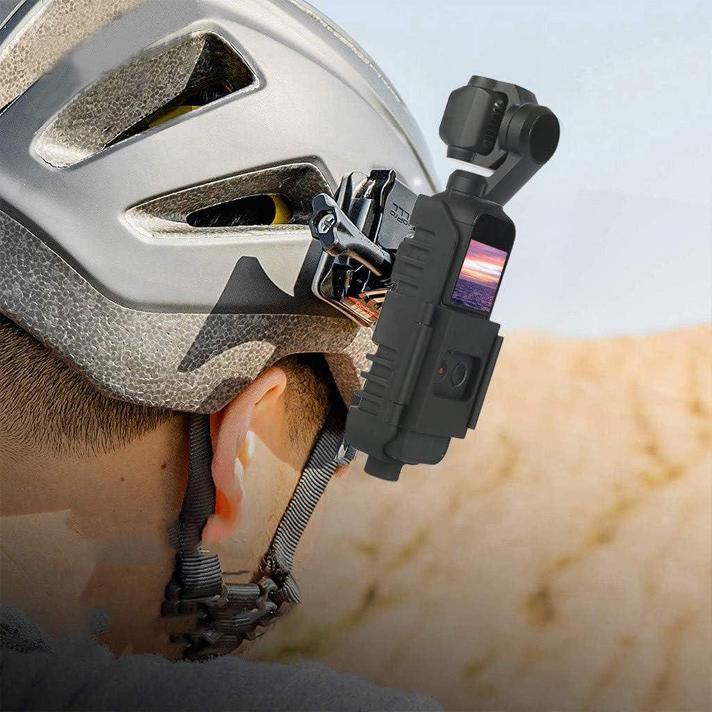 JKRED Silicone Bike Mount Bracket Holder Protective Frame Cover for DJI Osmo Pocket Camera,Connect Your Pocket to Handlebars,Helmets