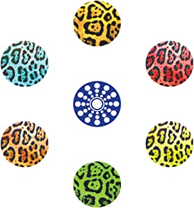 miButton AHB00101 miButton Home Button Sticker for iPod, iPhone, & iPad - Leopard - 1 Pack - Charm - Retail Packaging - Leopard