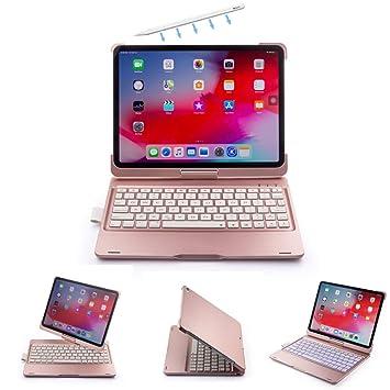 Amazon.com: Funda con teclado para iPad Pro de 11 pulgadas y ...