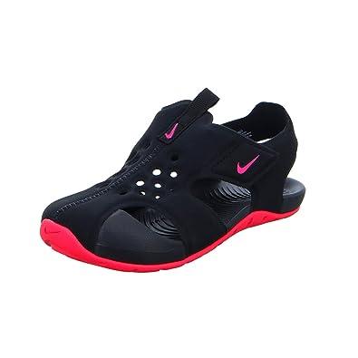 brand new 6238d 84bae Nike Unisex Baby Sunray Protect 2 (td) Durchgängies Plateau Sandalen  Mehrfarbig (Black