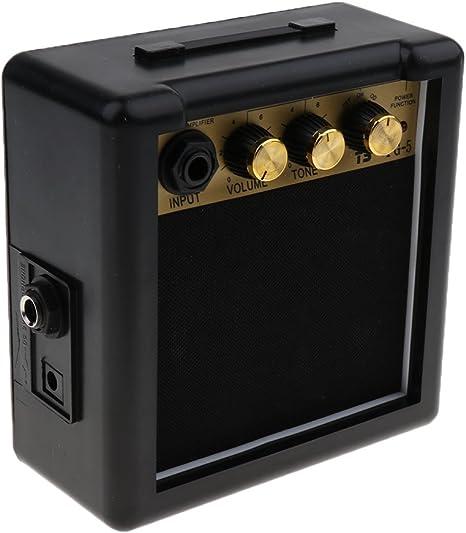 Mini Portátil 5w 9v Guitarra Eléctrica Práctica Amp Amplificador ...