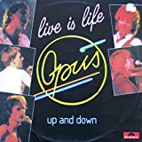 Live Is Life , up and Down German 12""