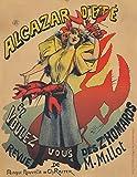 Alcazar d'Ete - Z'Homards Vintage Poster (artist: Choubrac) France c. 1887 (36x54 Giclee Gallery Print, Wall Decor Travel Poster)