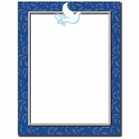 Amazon.com: Paloma de la paz Letterhead Papel Impresora de ...
