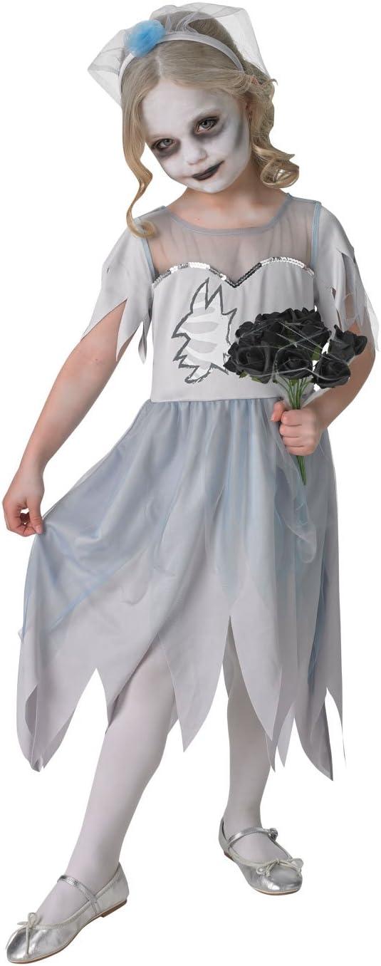 Disfraz de novia cadáver para niñas (oficial de Dearly Departed ...