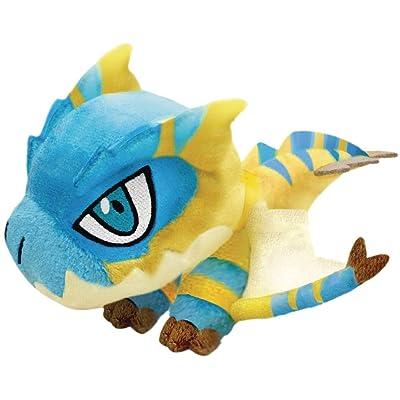 Capcom Monster Hunter: Tigrex Monster Chibi Plush Toy, Multicolor: Toys & Games