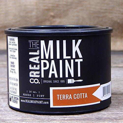Paint Terra Cotta - 20- Real Milk Paint - Terra Cotta (pt.)