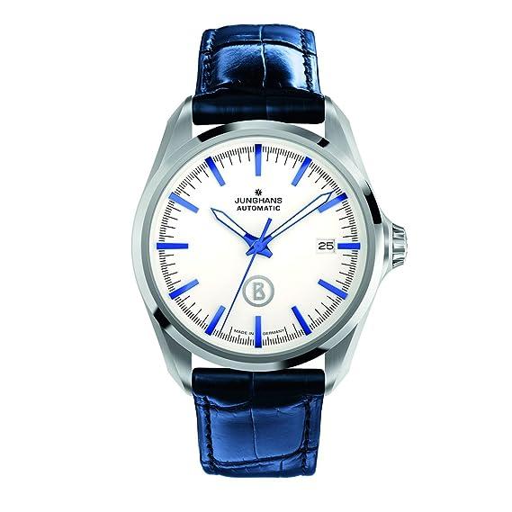 Junghans Bogner Willy Automatic 027/4280.00 - Reloj analógico automático para hombre, correa de