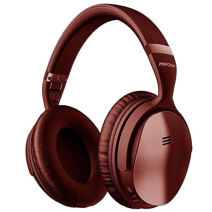 Mpow H3 - Auriculares con cancelación de ruido activos, auriculares ANC con micrófono y Bluetooth