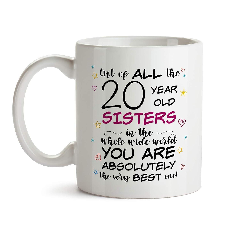 20th Sister Birthday Gift Mug