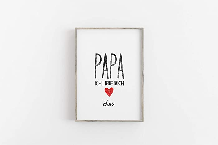 Personalisiertes geschenk fur papa