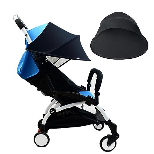 Parasol cochecito bebé bebé anti UV gamuza cochecito funda de lluvia Cortavientos impermeable protección solar paraguas