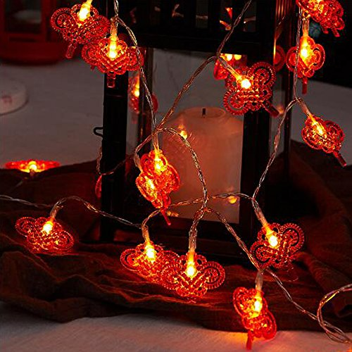 Chinese New Year Accessories Decoration - Dreamworth Chinese Knot String Lights 20ft