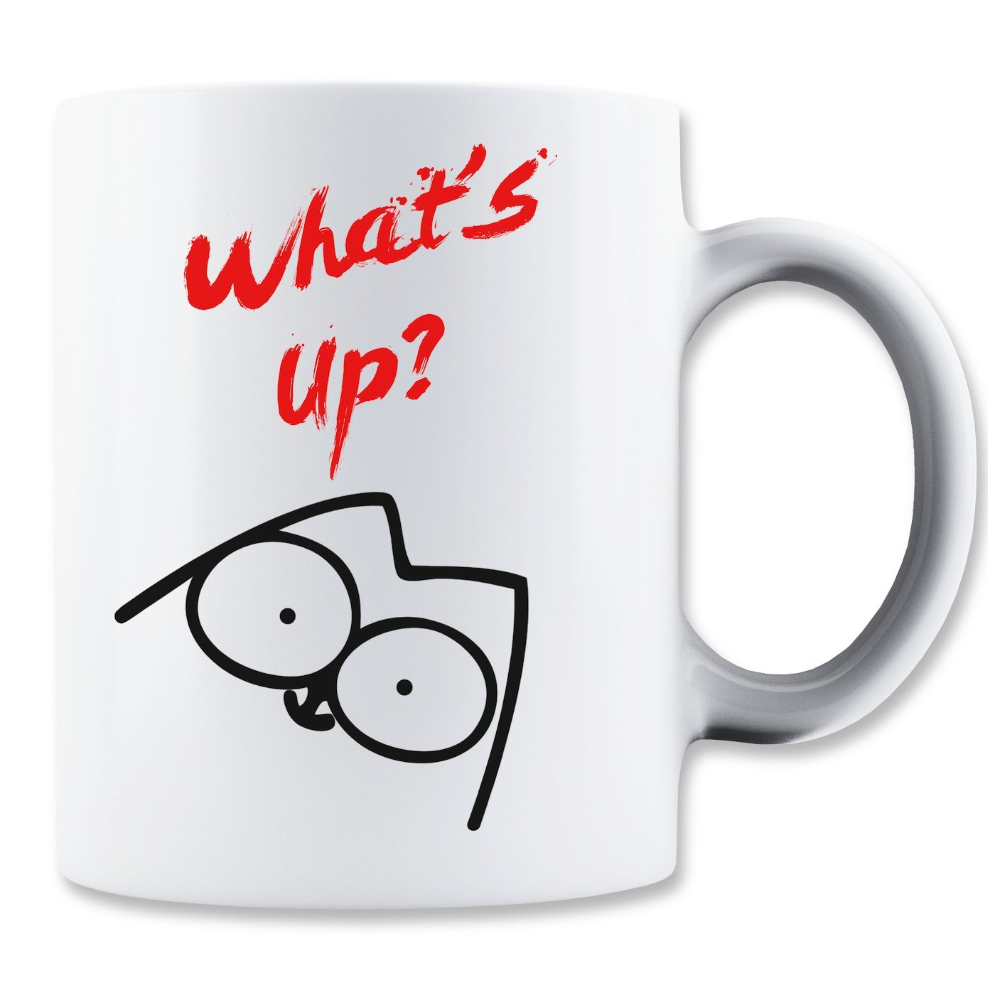 Simon's Cat Kaffeetasse: Whats Up? (350ml)