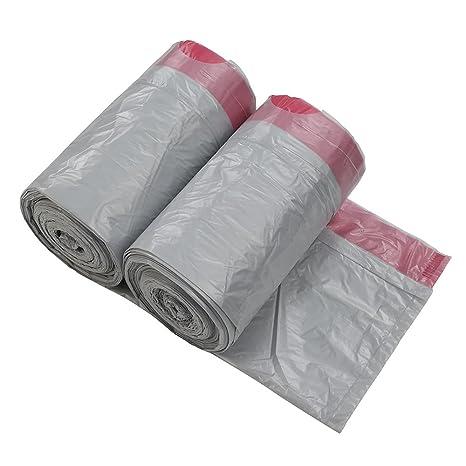 Amazon.com: Qsbon bolsa de basura con cordón de 4 galones ...