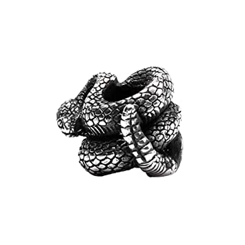 Amazon.com: Metalfable Paracord Bead Hand-Casted, Charms EDC ...