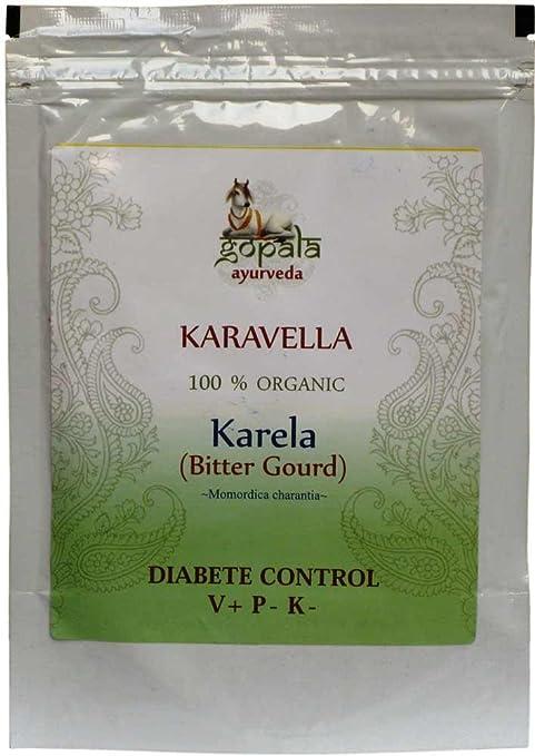 Karavella -karela- (Momordica charantia)Certificado ecológico LACON GmbH en Europa, Suplemento