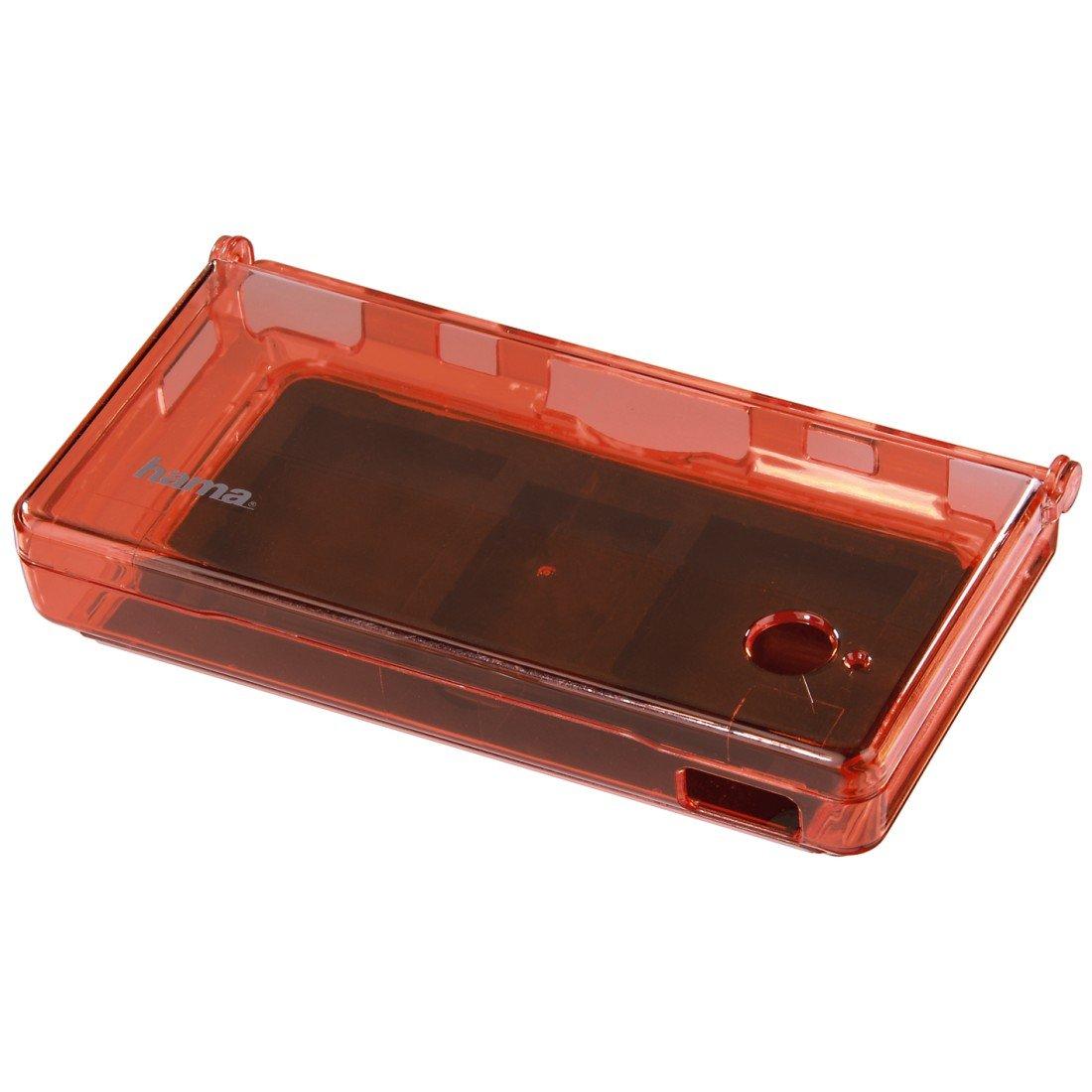 Hama Crystal Case for Nintendo DSi, transparent-red - cajas de ...