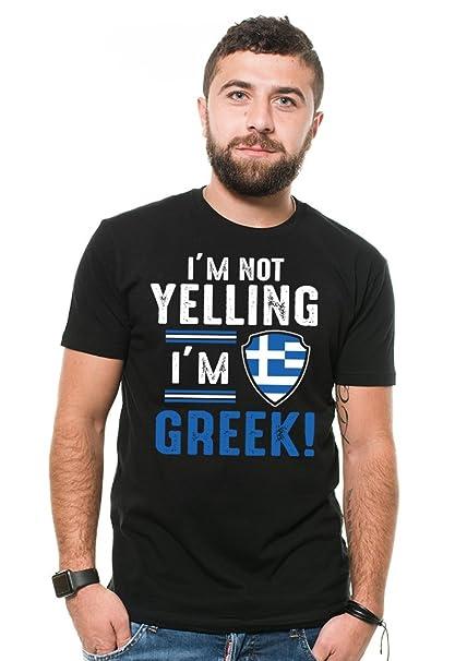 Road Shirt Uomo Tees Silk Grecia Divertente Greco T Nazionalità m0vnNw8O