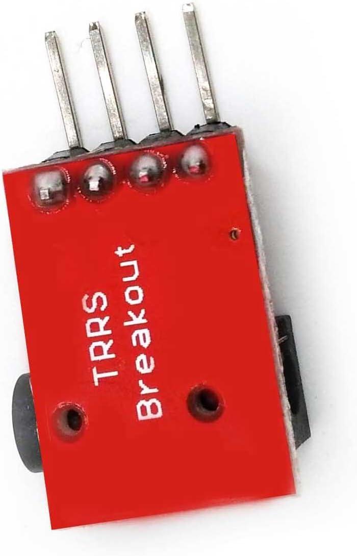 WG0078 Audio Socket Stereo Sound Module w//Mic SHENTIANWEI LDTR RED