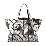 SAC A MAIN Femme Motif géométrique Couleur argent, Nouveauté 2017 Design Mode